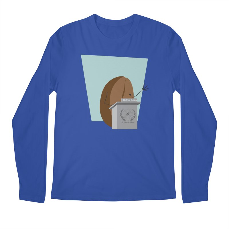 Coffee Anan Men's Longsleeve T-Shirt by Alaabahattab's Artist Shop