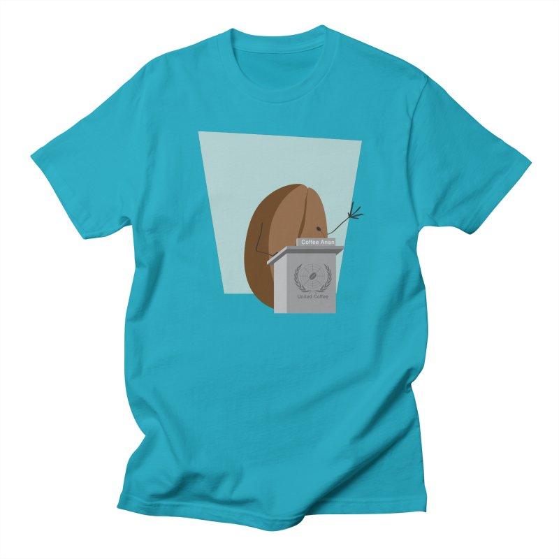 Coffee Anan Men's T-shirt by Alaabahattab's Artist Shop
