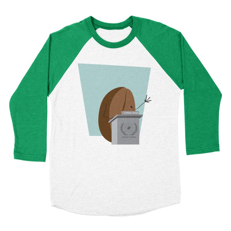 Coffee Anan Men's Baseball Triblend T-Shirt by Alaabahattab's Artist Shop