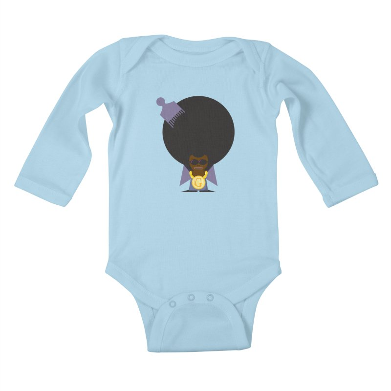 G thang Kids Baby Longsleeve Bodysuit by Alaabahattab's Artist Shop
