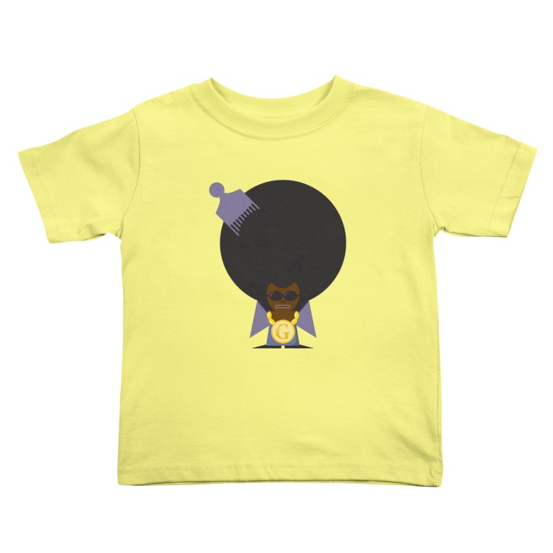 G thang Kids Toddler T-Shirt by Alaabahattab's Artist Shop