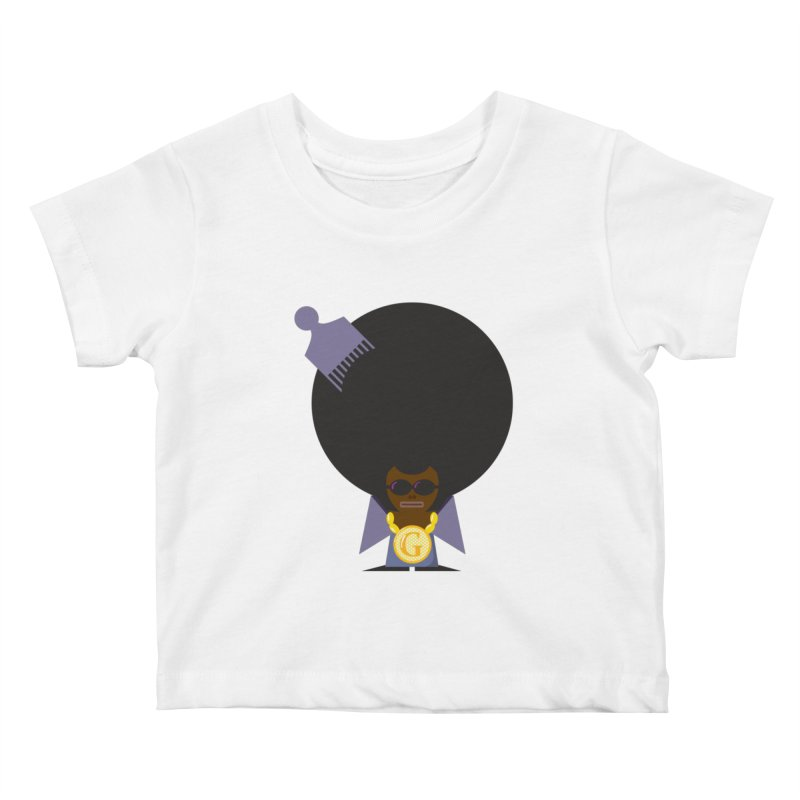 G thang Kids Baby T-Shirt by Alaabahattab's Artist Shop