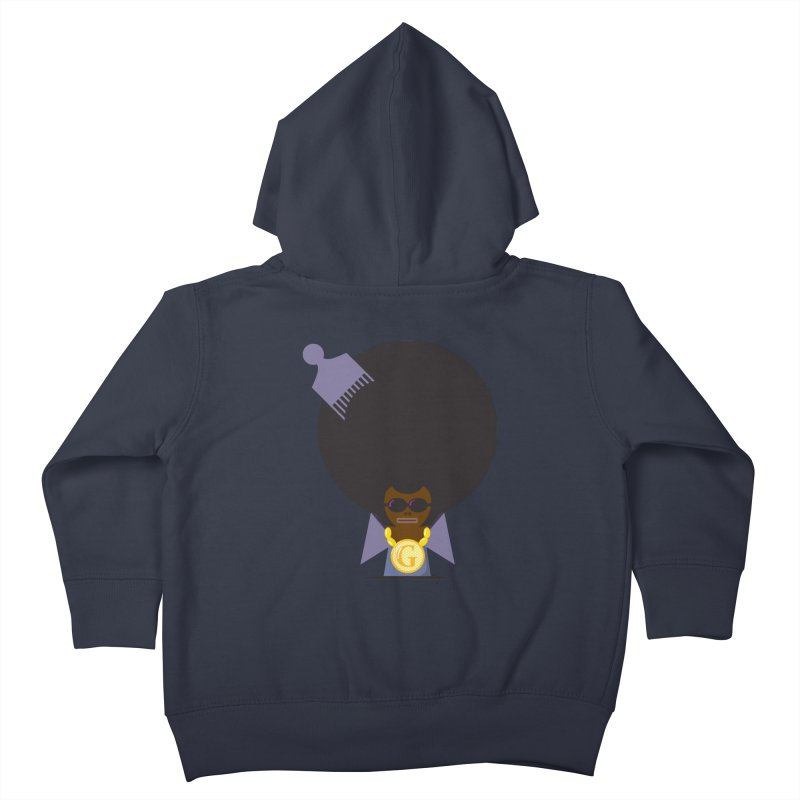 G thang Kids Toddler Zip-Up Hoody by Alaabahattab's Artist Shop