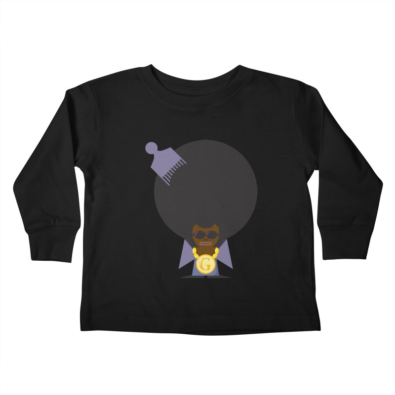 G thang Kids Toddler Longsleeve T-Shirt by Alaabahattab's Artist Shop