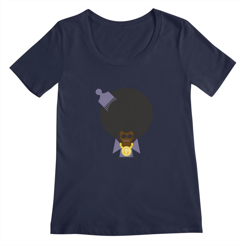 G thang Women's Scoopneck by Alaabahattab's Artist Shop