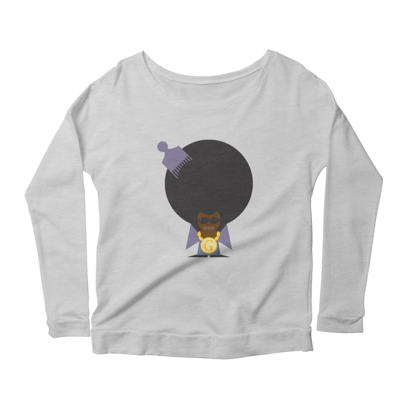 G thang Women's Longsleeve Scoopneck  by Alaabahattab's Artist Shop