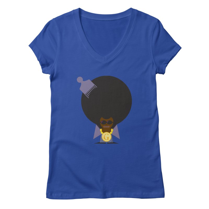 G thang Women's V-Neck by Alaabahattab's Artist Shop