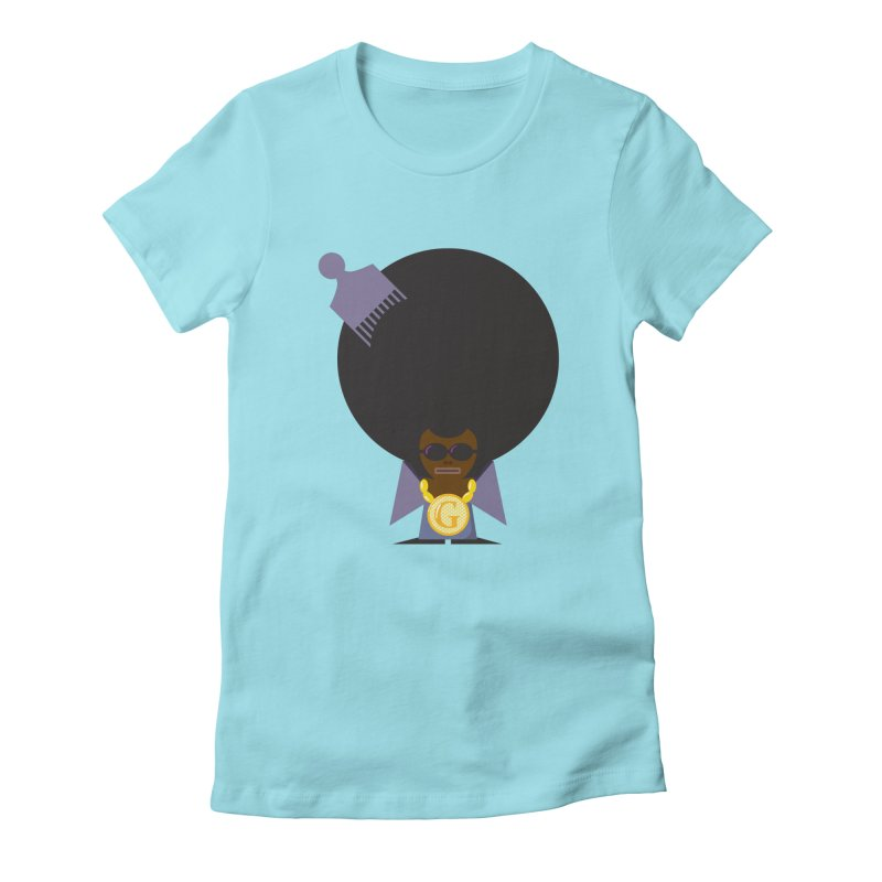G thang Women's Fitted T-Shirt by Alaabahattab's Artist Shop