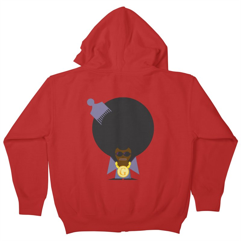 G thang Kids Zip-Up Hoody by Alaabahattab's Artist Shop