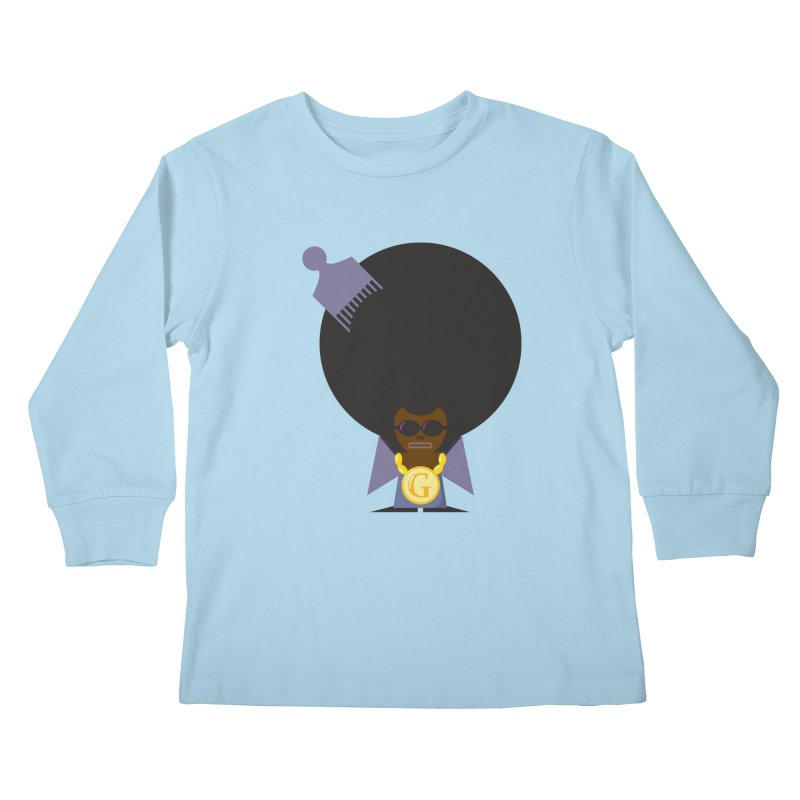 G thang Kids Longsleeve T-Shirt by Alaabahattab's Artist Shop