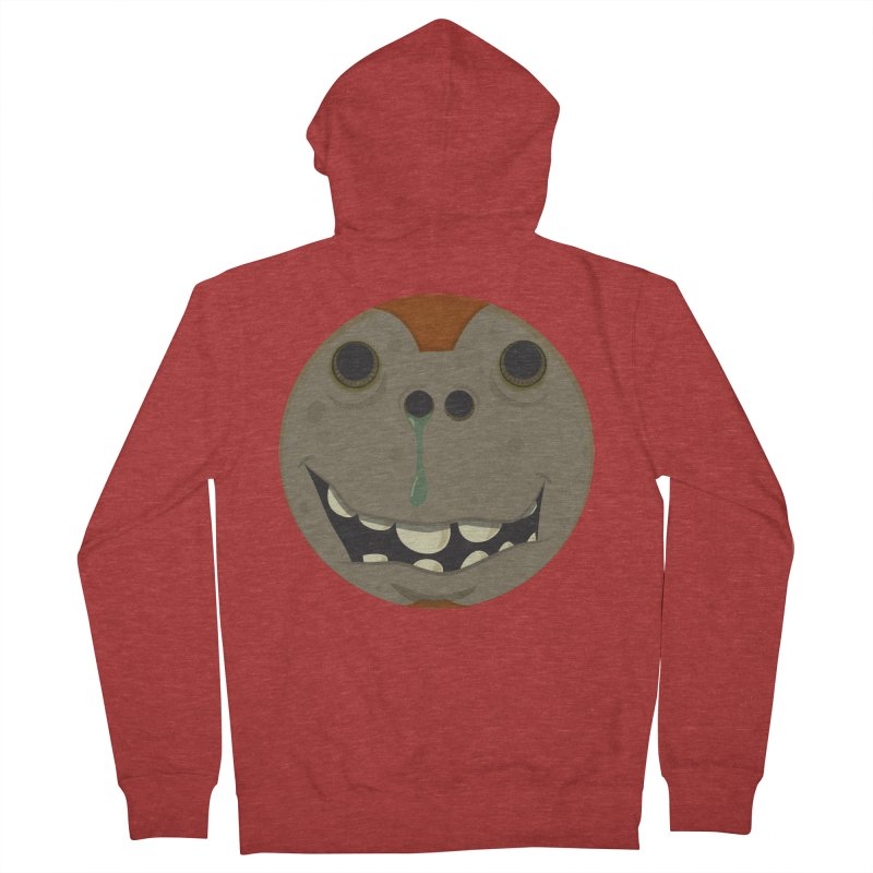Booger face Women's Zip-Up Hoody by Alaabahattab's Artist Shop
