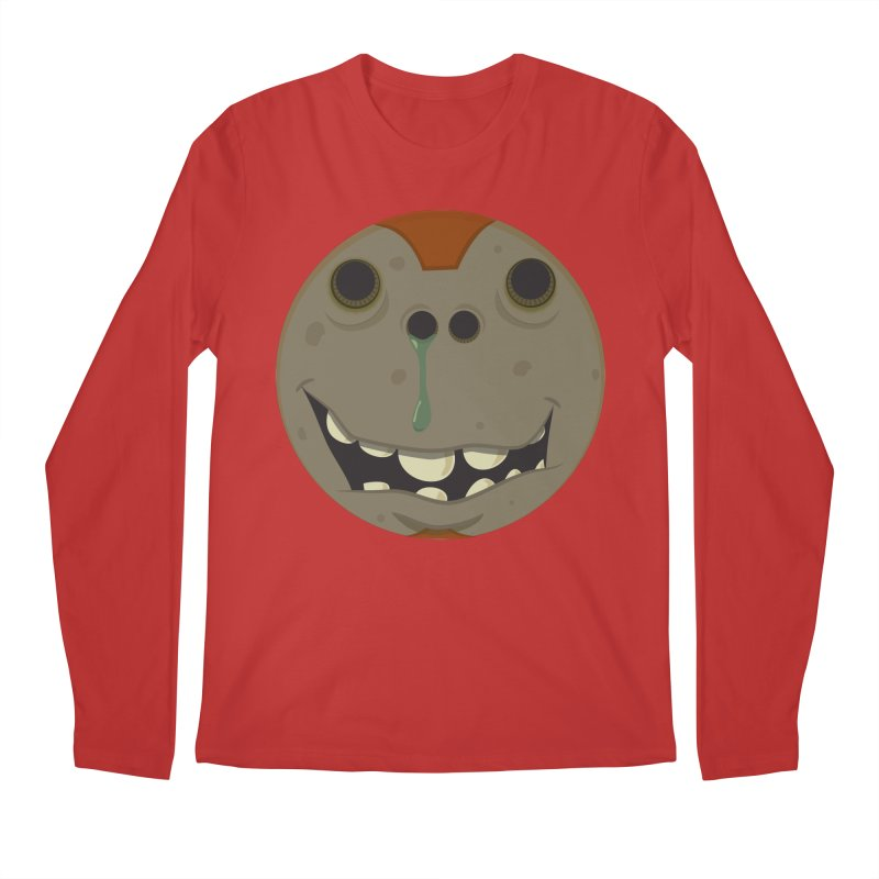 Booger face Men's Longsleeve T-Shirt by Alaabahattab's Artist Shop