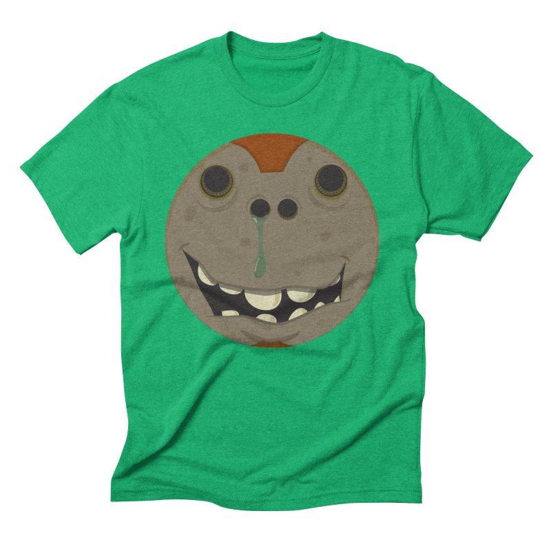 Booger face Men's Triblend T-Shirt by Alaabahattab's Artist Shop
