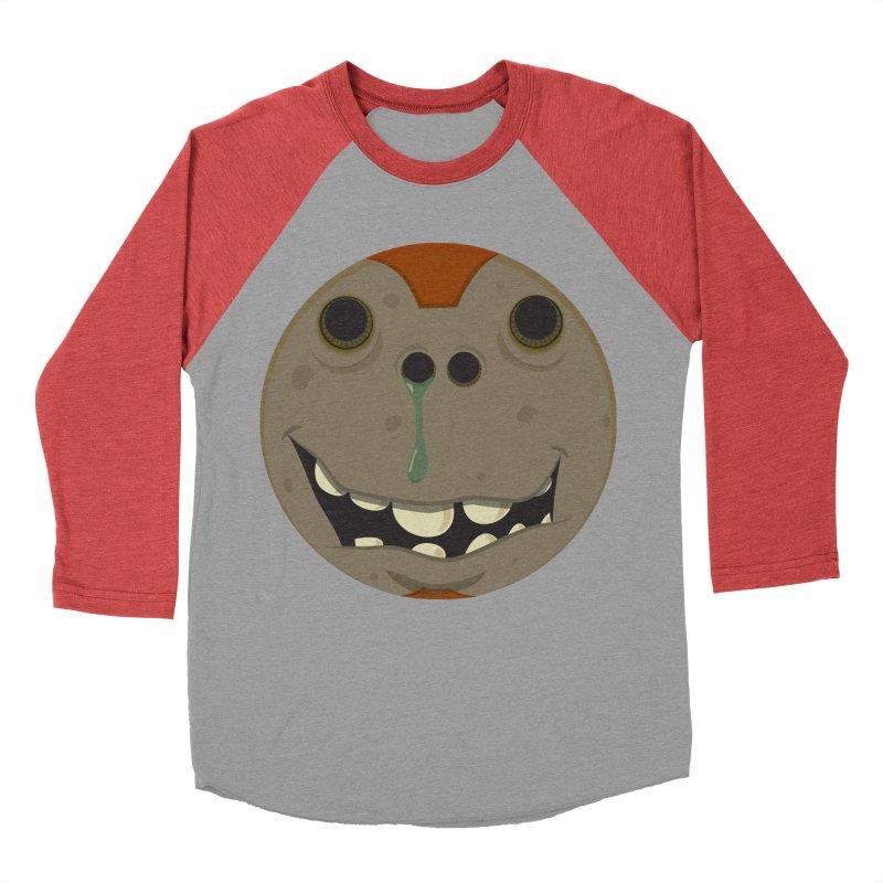Booger face Men's Baseball Triblend T-Shirt by Alaabahattab's Artist Shop