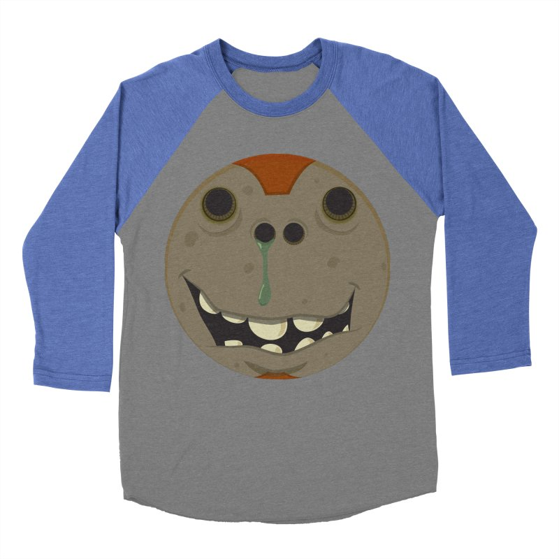 Booger face Men's Baseball Triblend T-Shirt by Alaabahattab's Artist Shop