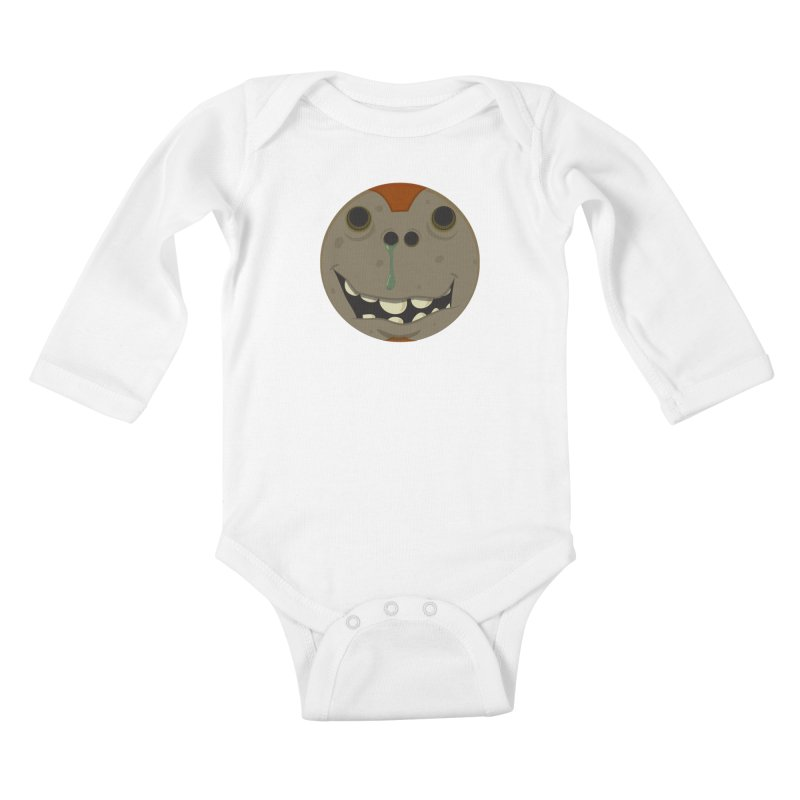 Booger face Kids Baby Longsleeve Bodysuit by Alaabahattab's Artist Shop