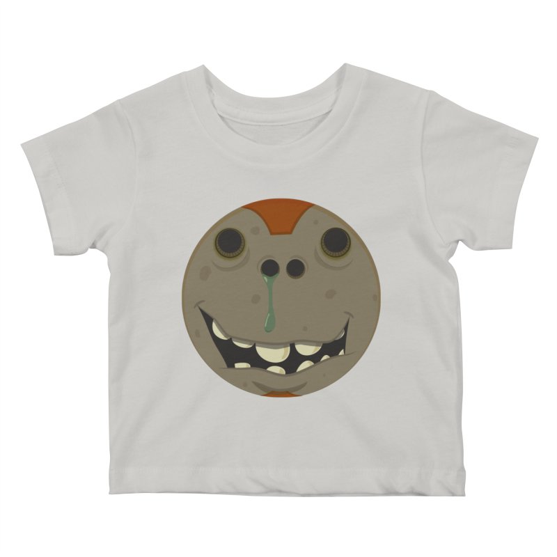 Booger face Kids Baby T-Shirt by Alaabahattab's Artist Shop