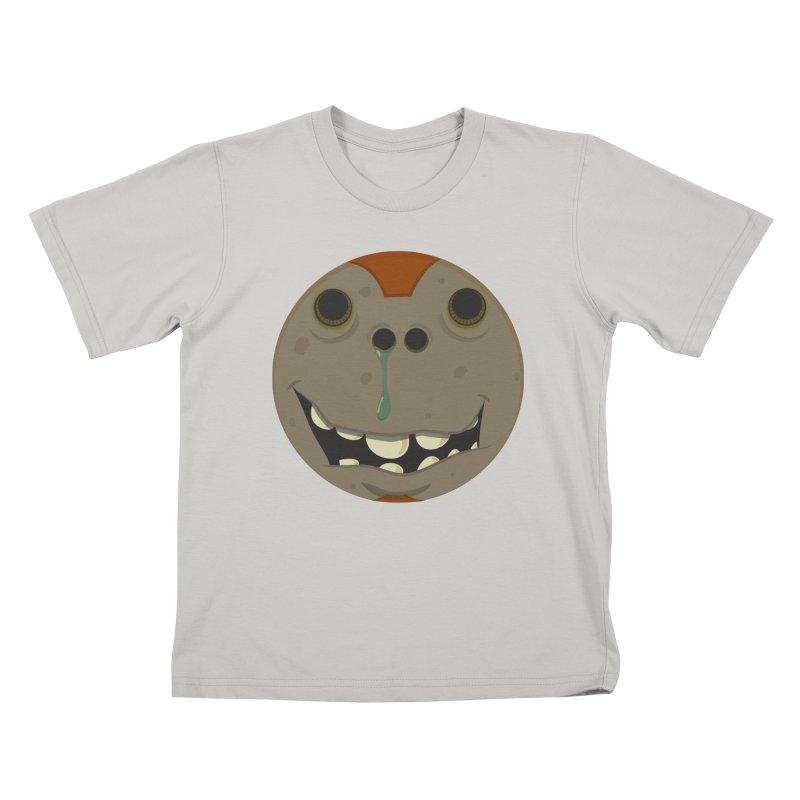 Booger face Kids T-shirt by Alaabahattab's Artist Shop