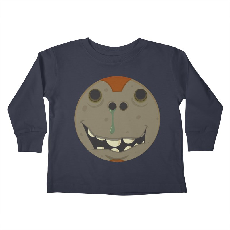 Booger face Kids Toddler Longsleeve T-Shirt by Alaabahattab's Artist Shop