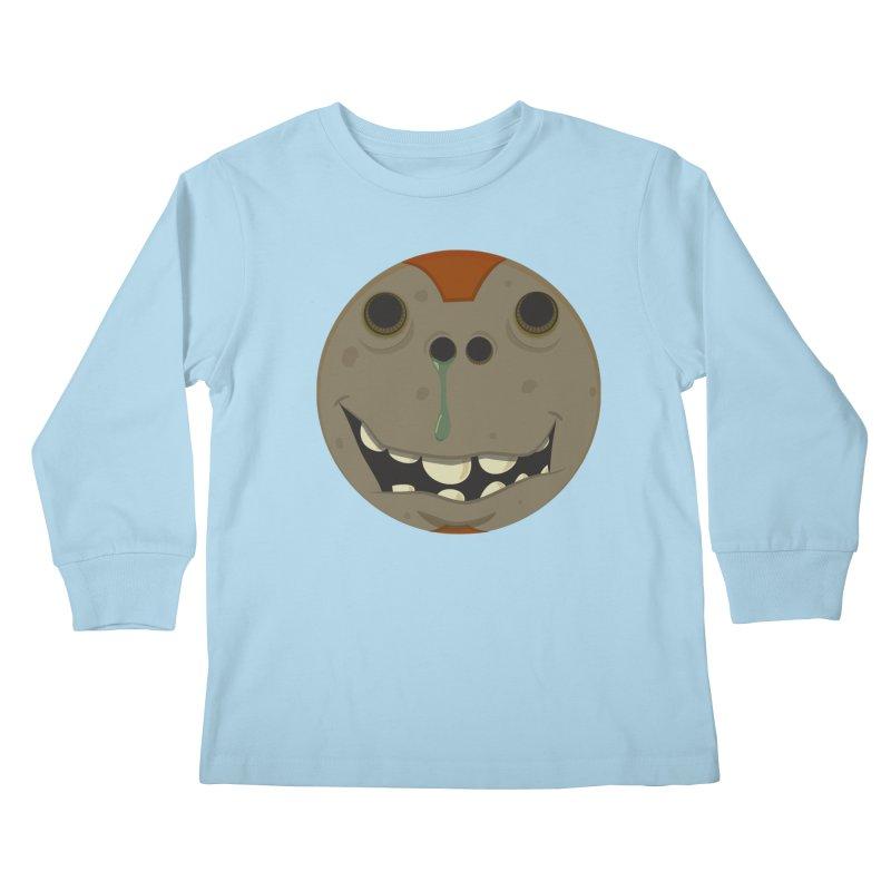 Booger face Kids Longsleeve T-Shirt by Alaabahattab's Artist Shop