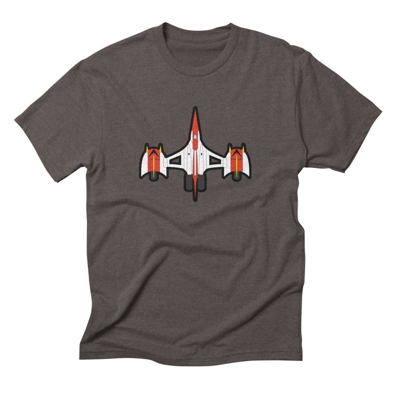 UFO KABOTU Men's Triblend T-shirt by Alaabahattab's Artist Shop