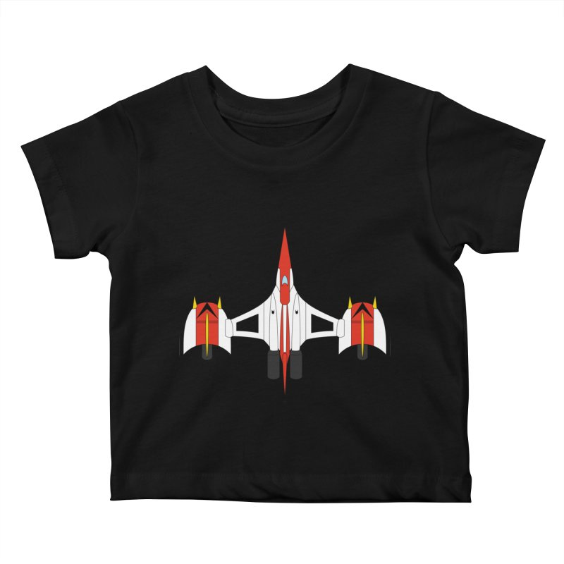 UFO KABOTU Kids Baby T-Shirt by Alaabahattab's Artist Shop