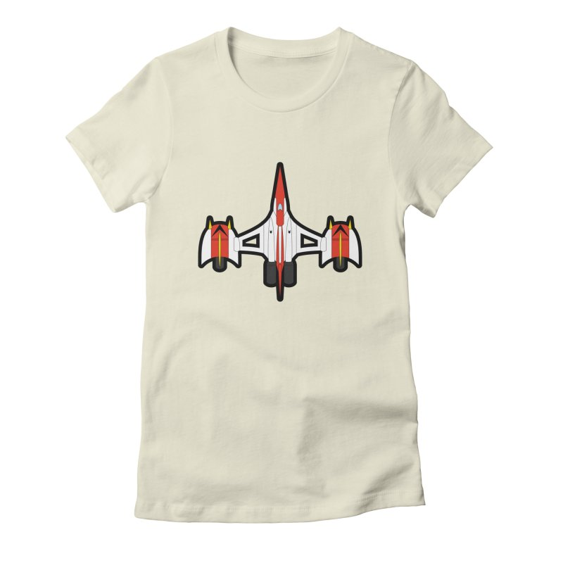 UFO KABOTU Women's Fitted T-Shirt by Alaabahattab's Artist Shop