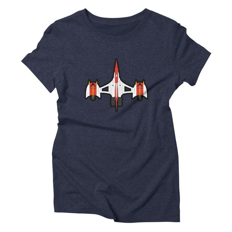 UFO KABOTU Women's Triblend T-shirt by Alaabahattab's Artist Shop