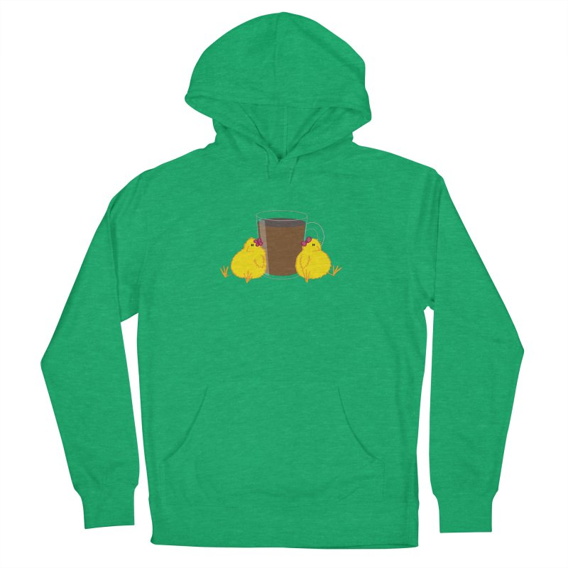 2 chicks 1 cup Men's Pullover Hoody by Alaabahattab's Artist Shop