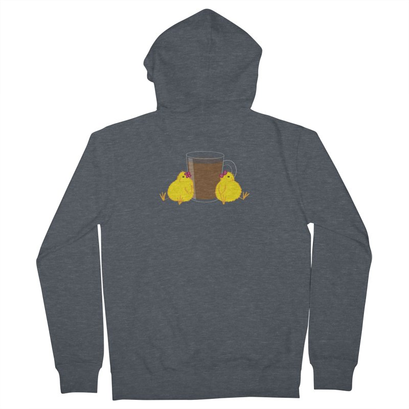 2 chicks 1 cup Men's Zip-Up Hoody by Alaabahattab's Artist Shop