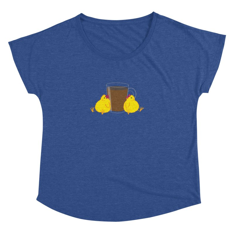 2 chicks 1 cup Women's Dolman by Alaabahattab's Artist Shop
