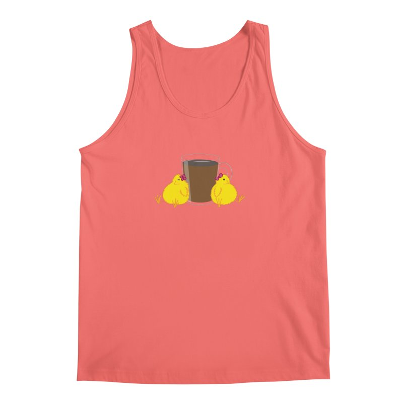 2 chicks 1 cup Men's Tank by Alaabahattab's Artist Shop