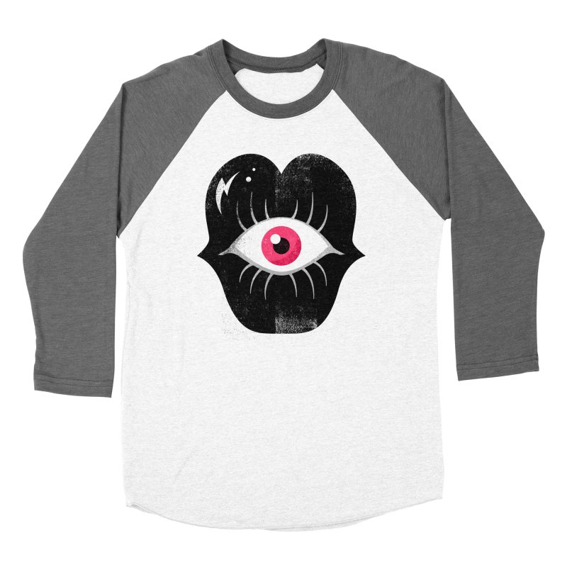 Do You See What I'm Saying? Men's Baseball Triblend Longsleeve T-Shirt by Illustrator and Designer Alan Defibaugh's Shop