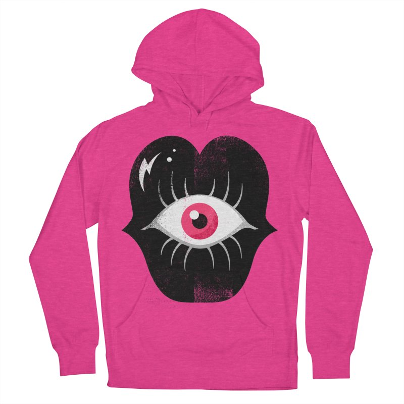 Do You See What I'm Saying? Men's French Terry Pullover Hoody by Illustrator and Designer Alan Defibaugh's Shop