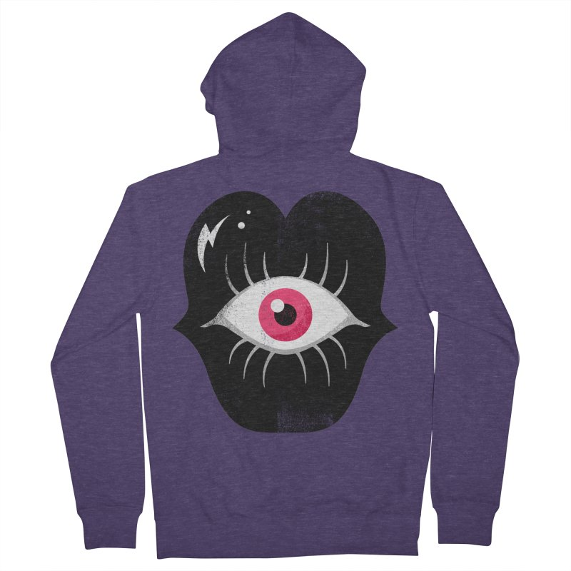 Do You See What I'm Saying? Men's French Terry Zip-Up Hoody by Illustrator and Designer Alan Defibaugh's Shop