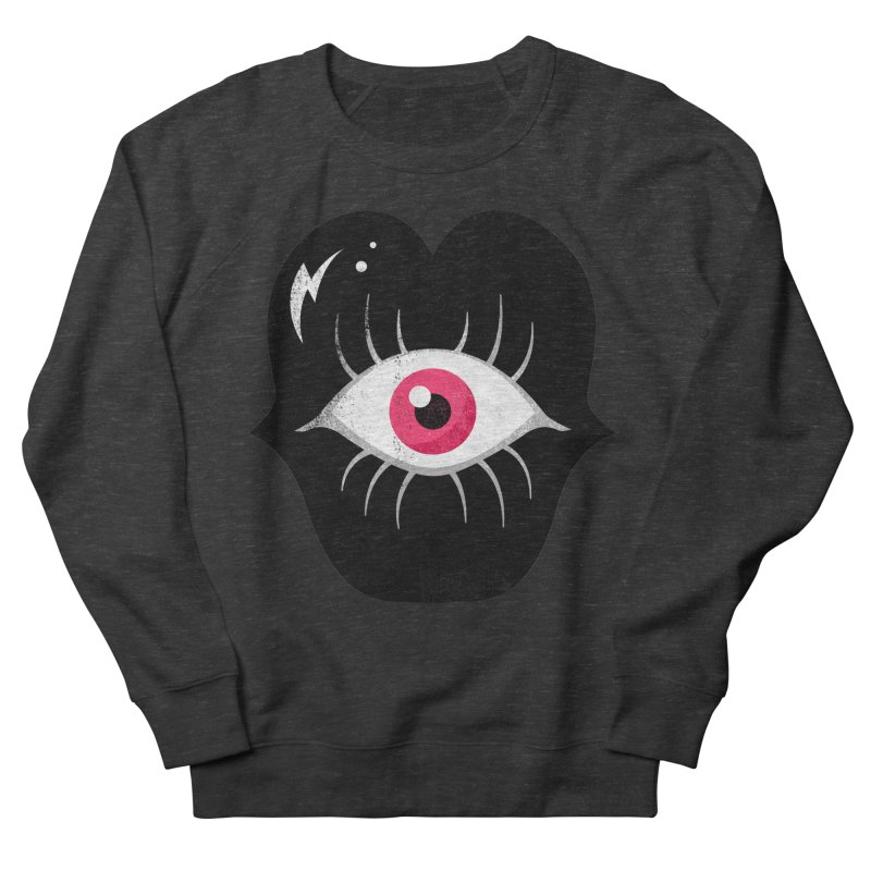 Do You See What I'm Saying? Women's French Terry Sweatshirt by Illustrator and Designer Alan Defibaugh's Shop