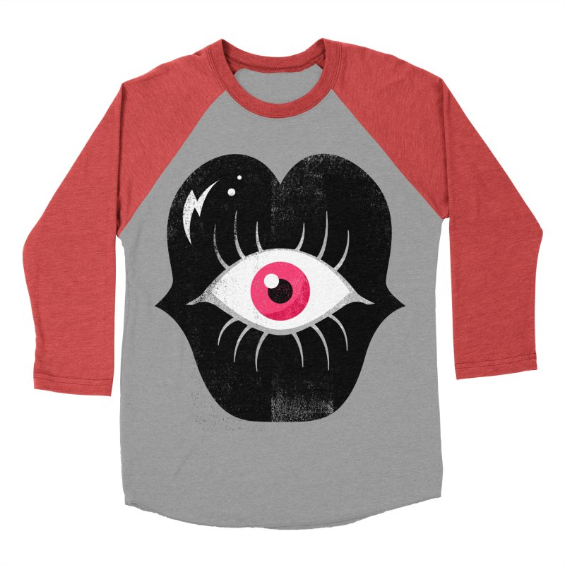 Do You See What I'm Saying? Women's Baseball Triblend Longsleeve T-Shirt by Illustrator and Designer Alan Defibaugh's Shop