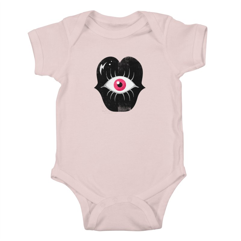 Do You See What I'm Saying? Kids Baby Bodysuit by Illustrator and Designer Alan Defibaugh's Shop