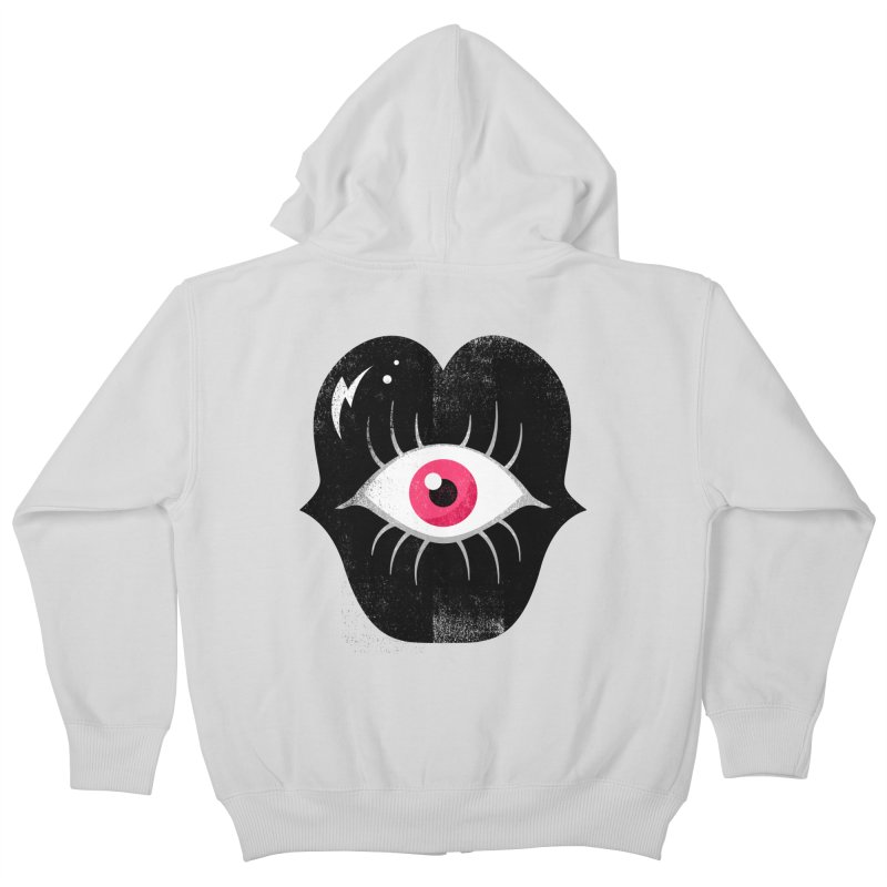 Do You See What I'm Saying? Kids Zip-Up Hoody by Illustrator and Designer Alan Defibaugh's Shop