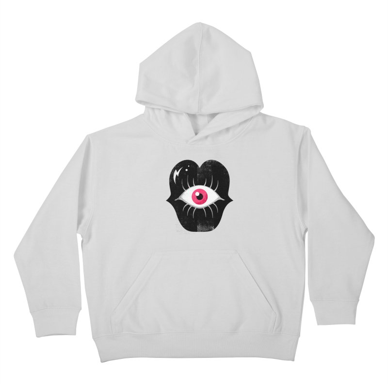 Do You See What I'm Saying? Kids Pullover Hoody by Illustrator and Designer Alan Defibaugh's Shop