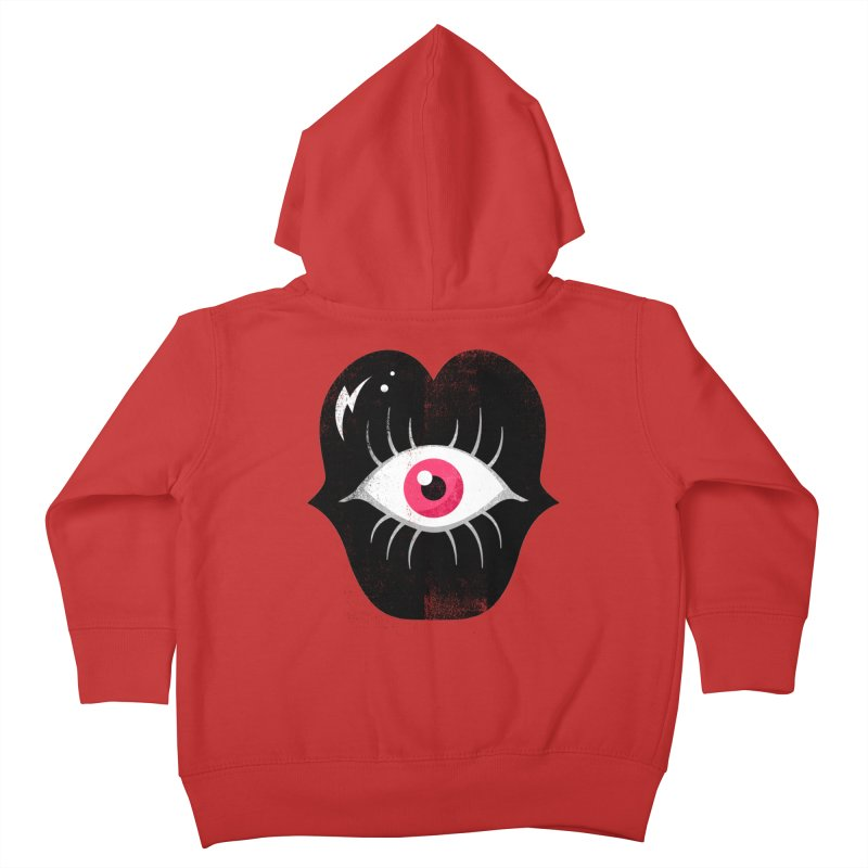 Do You See What I'm Saying? Kids Toddler Zip-Up Hoody by Illustrator and Designer Alan Defibaugh's Shop