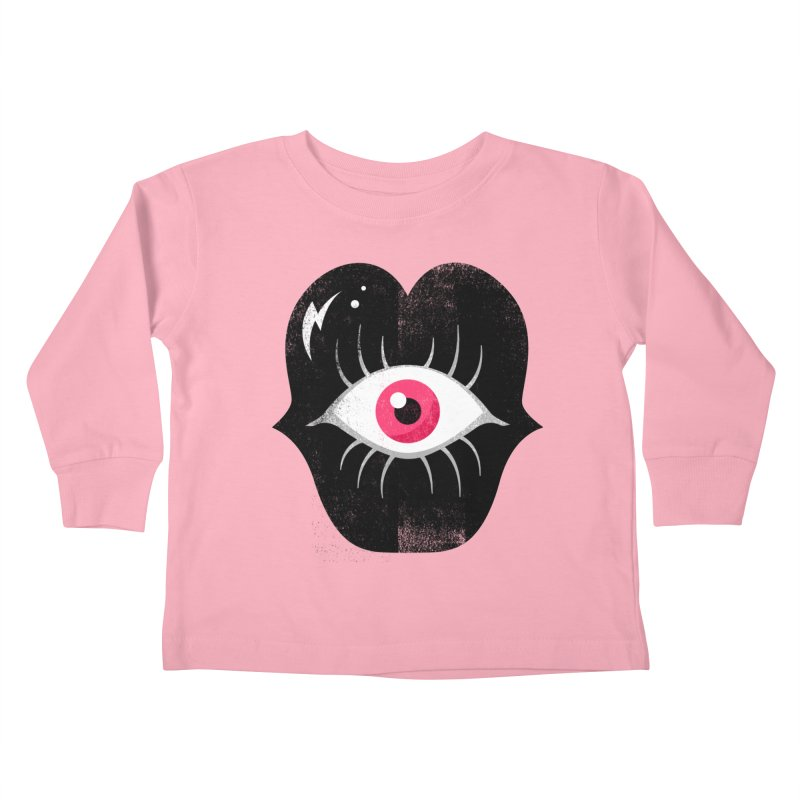 Do You See What I'm Saying? Kids Toddler Longsleeve T-Shirt by Illustrator and Designer Alan Defibaugh's Shop