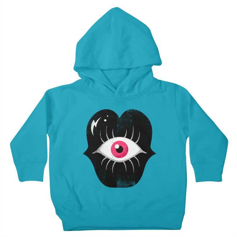 Do You See What I'm Saying? Kids Toddler Pullover Hoody by Illustrator and Designer Alan Defibaugh's Shop