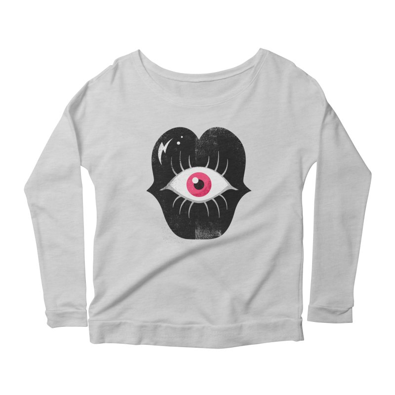 Do You See What I'm Saying? Women's Scoop Neck Longsleeve T-Shirt by Illustrator and Designer Alan Defibaugh's Shop