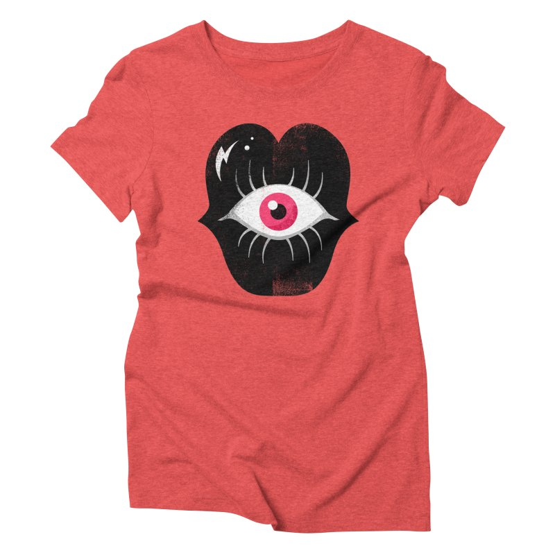 Do You See What I'm Saying? Women's Triblend T-Shirt by Illustrator and Designer Alan Defibaugh's Shop