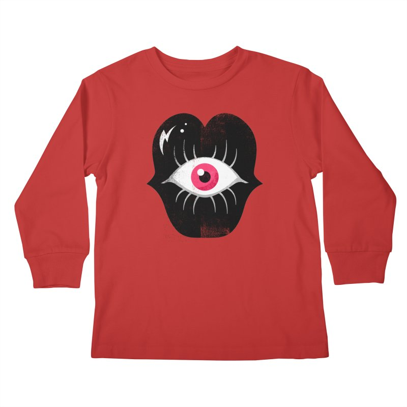 Do You See What I'm Saying? Kids Longsleeve T-Shirt by Illustrator and Designer Alan Defibaugh's Shop