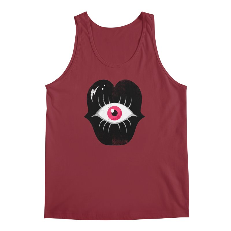 Do You See What I'm Saying? Men's Regular Tank by Illustrator and Designer Alan Defibaugh's Shop