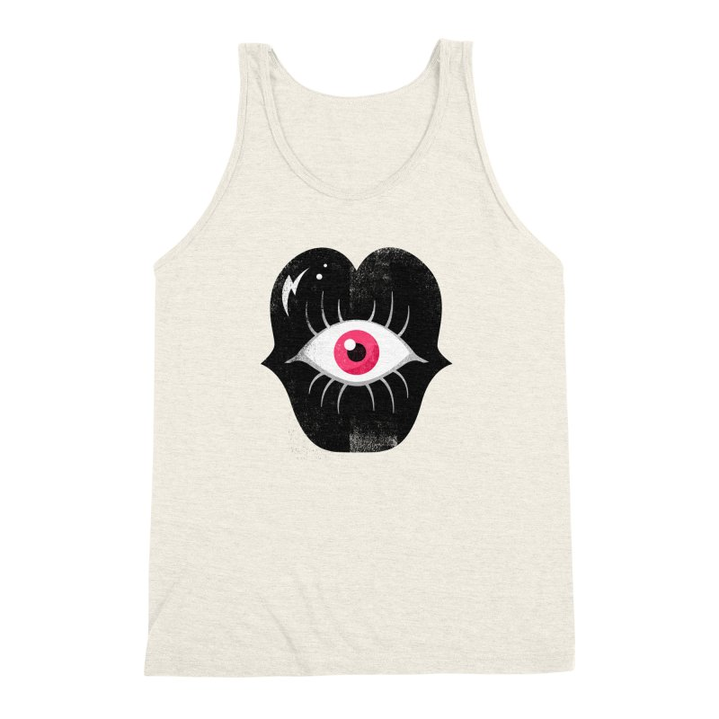 Do You See What I'm Saying? Men's Triblend Tank by Illustrator and Designer Alan Defibaugh's Shop