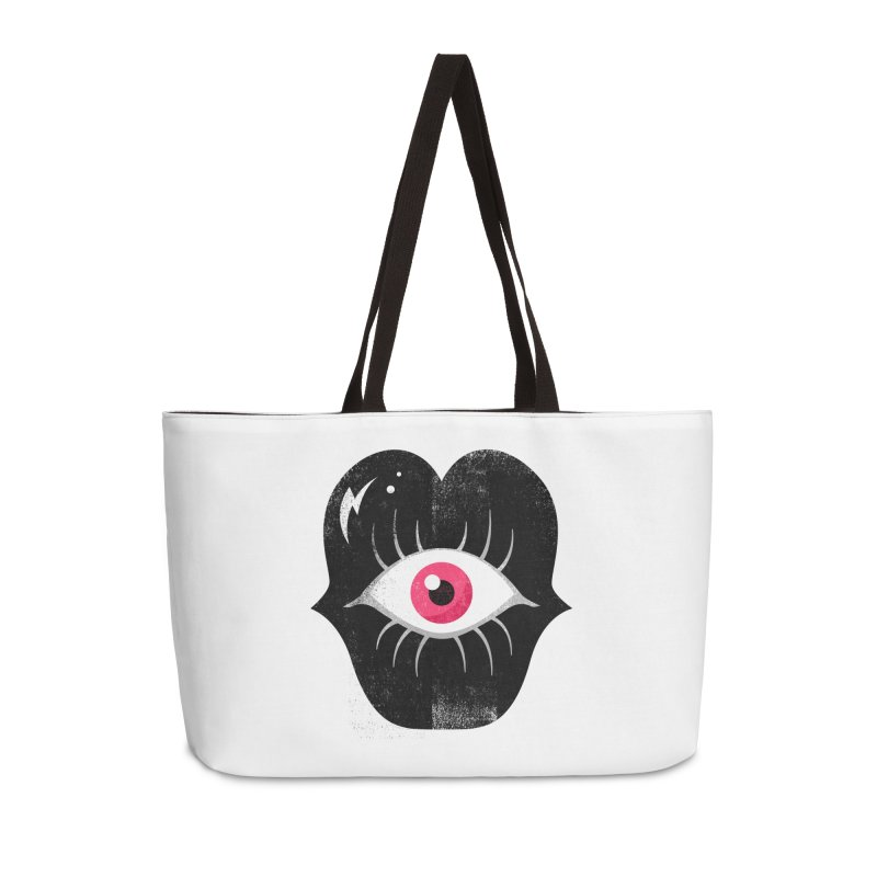 Do You See What I'm Saying? Accessories Weekender Bag Bag by Illustrator and Designer Alan Defibaugh's Shop