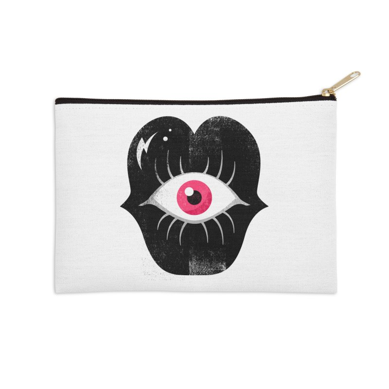 Do You See What I'm Saying? Accessories Zip Pouch by Illustrator and Designer Alan Defibaugh's Shop